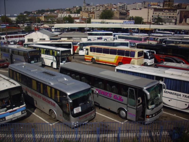 Beograd: Otkazani autobusi ka Banjaluci i Ljubljani