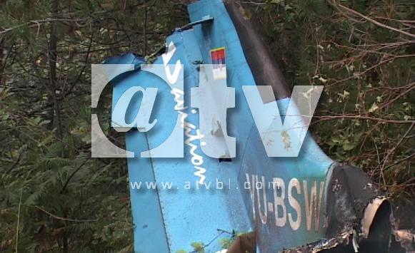 Ozren: Pronađeni ostaci srušenog aviona