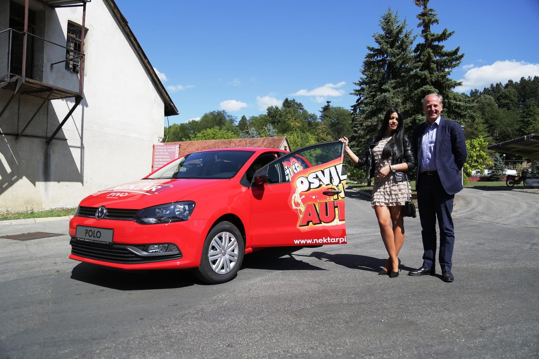 Nataša Vasović iz Bijeljine preuzela glavnu nagradu VW Polo