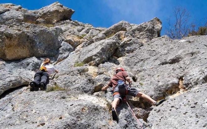 Penjački festival u kanjonu Tijesno