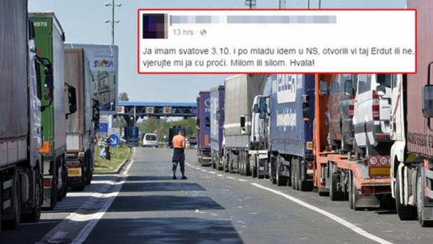 SVOJOM OBJAVOM JE ZAPALIO FEJSBUK: Evo šta je Hrvat poručio Vladi svoje zemlje! (FOTO)