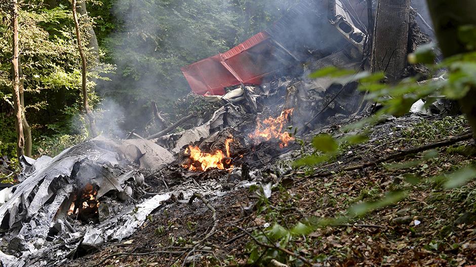 Avion iz Srbije pao na Ozrenu, jedno poginulo