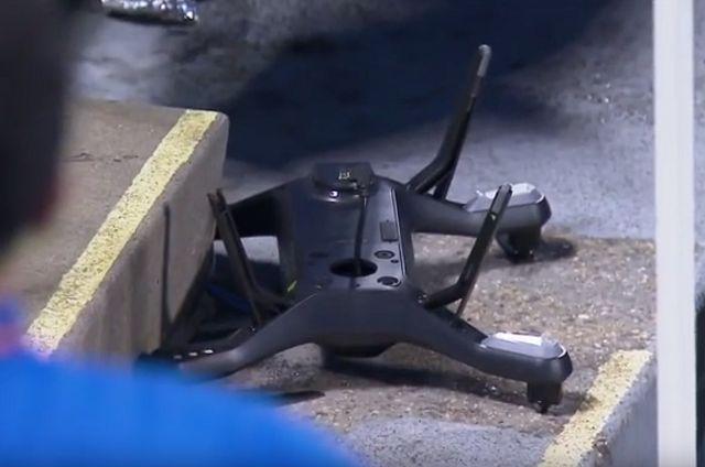 Dron pao usred meča na US Openu (VIDEO)