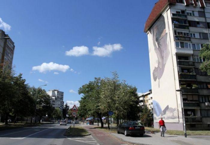 Završen novi mural u banjalučkom naselju Borik, u pripremi sljedeći. (Foto)