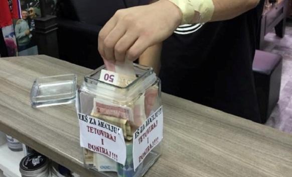 Banjalučki tatoo-majstori prikupili 8.000 KM za humanitarne svrhe