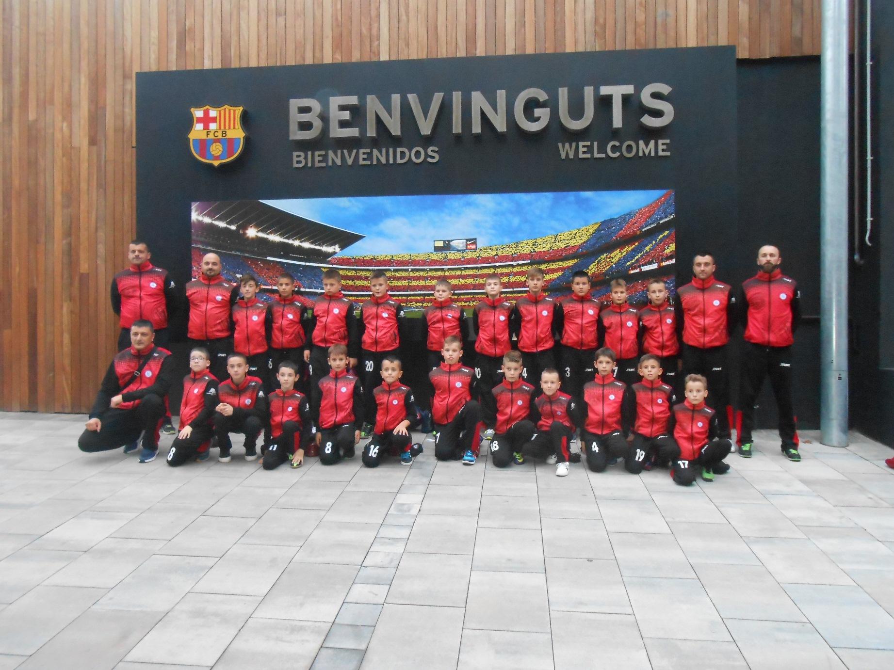 FK Rekreativo odigrao utakmicu u Barseloni!