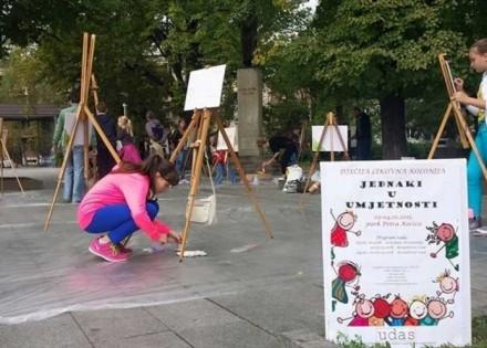 Mali umjetnici ostavili 35 djela u likovnoj koloniji UDAS-a