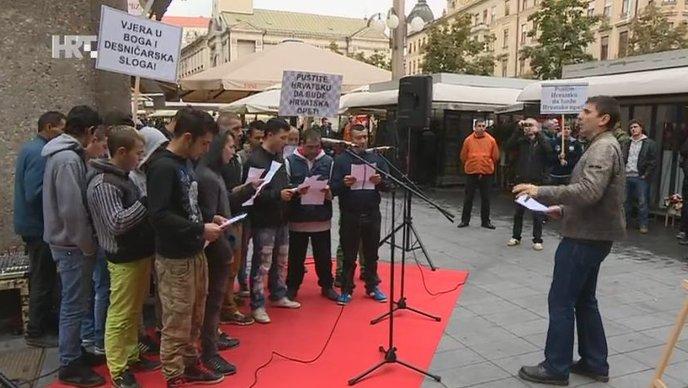 Performans usred Zagreba – Romi zapjevali ustaške pjesme