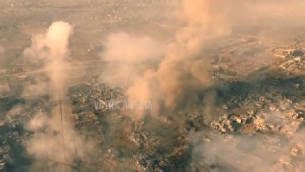 Ovako izgleda rat u Siriji: Snimci dronom pokazuju sukobe u Damasku (VIDEO)