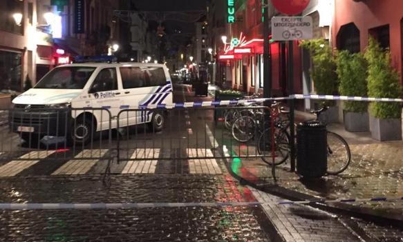 Policijska akcija u centru Brisela