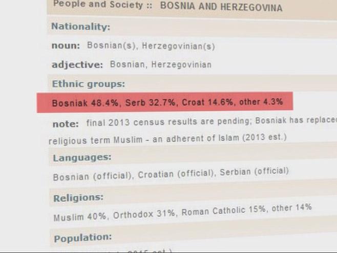 CIA objavila rezultate popisa stanovništva u BiH