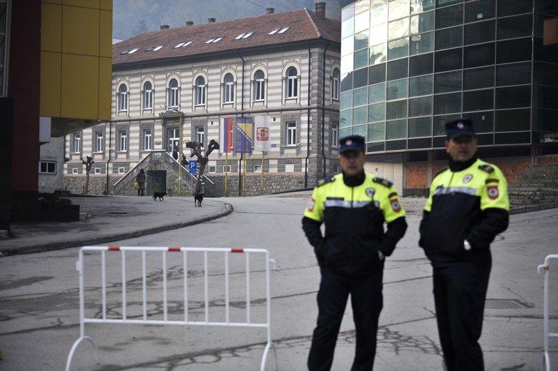 Velike mjere obezbjeđenja u Srebrenici