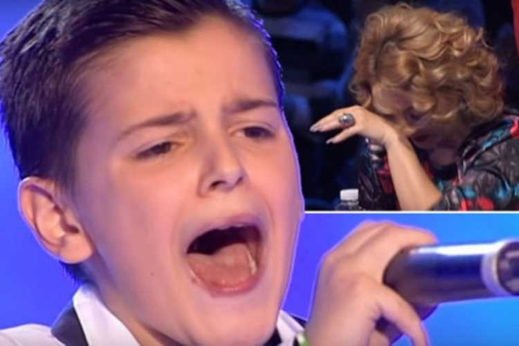 Poslušajte kako je dječak iz BiH ponovo rasplakao žiri (VIDEO)