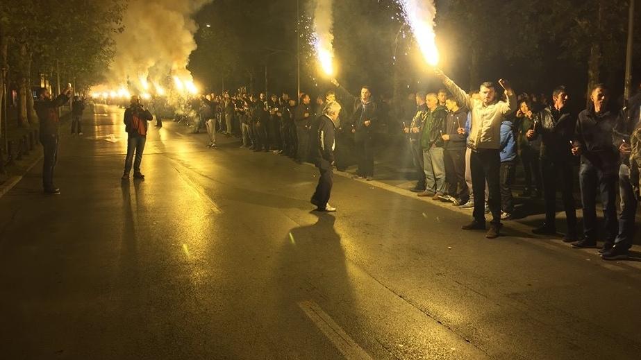 """Protest u Podgorici: Ori se """"bacite nam suzavac"""""""