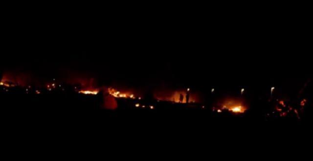Izbeglički kamp u plamenu nakon masakra u Parizu