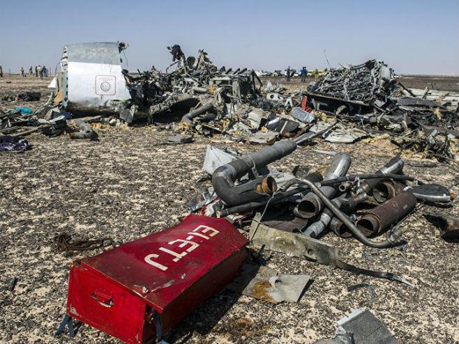 Ruski avion u Egiptu oborili teroristi