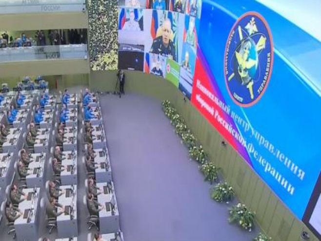 Putinov Pentagon: U ratnoj sobi nema svađe (VIDEO)