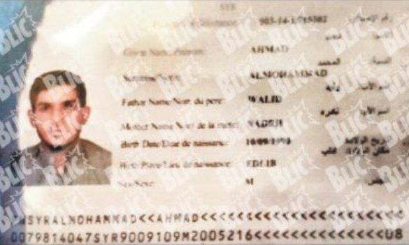 Ovo je terorista koji je prošao balkanskom rutom
