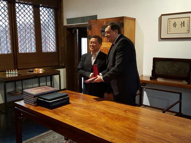 Dodik nastavlja posjetu Kini