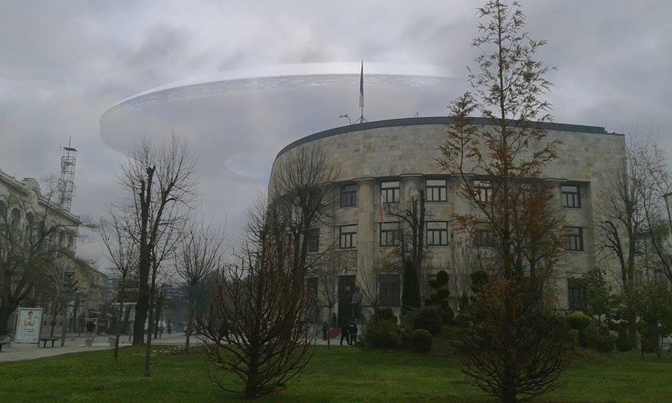 Pristižu slike NLO-a iznad Banjaluke, viđen i iznad Kontak radija (FOTO)