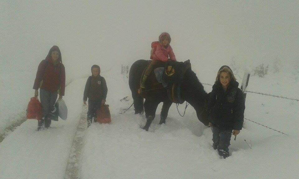 O fotografiji iz Sitnice: Ljubav prema školi jača od zime