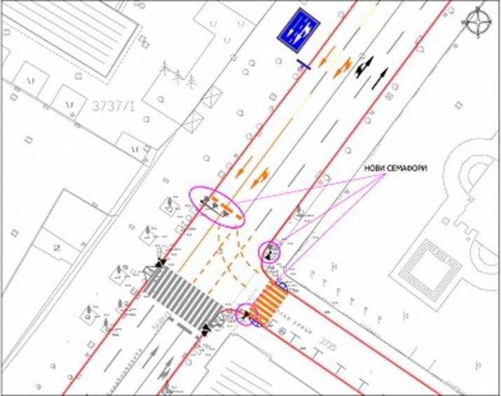 plan ulice