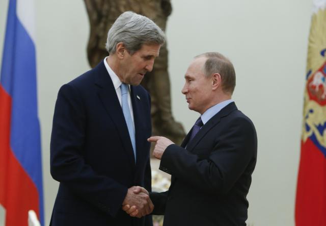 Putin i Keri: Rusi i Amerikanci mogu zajedno u Siriji