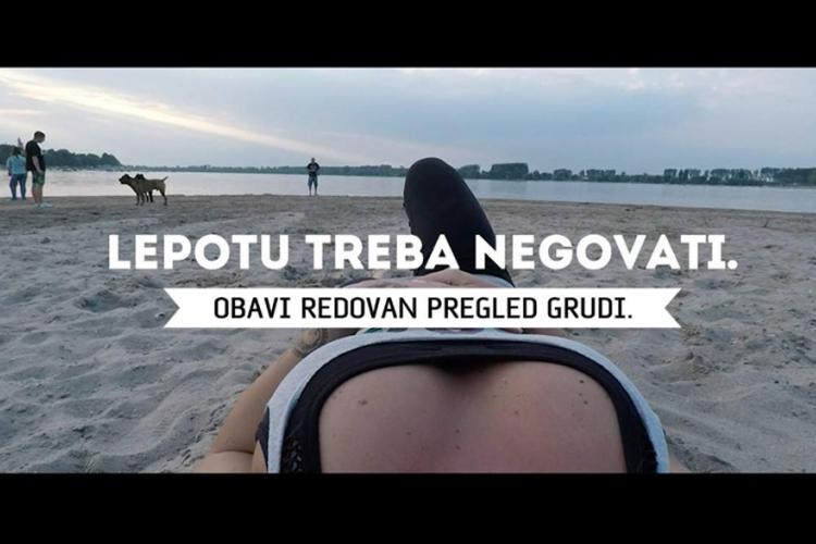 Crna Gora: Zabranili spot o zdravlju zbog grudi