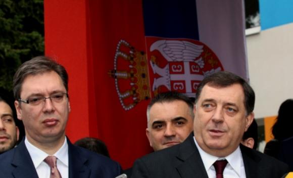 Dodik sa Vučićem: Prioritet je referendum o odluci Ustavnog suda