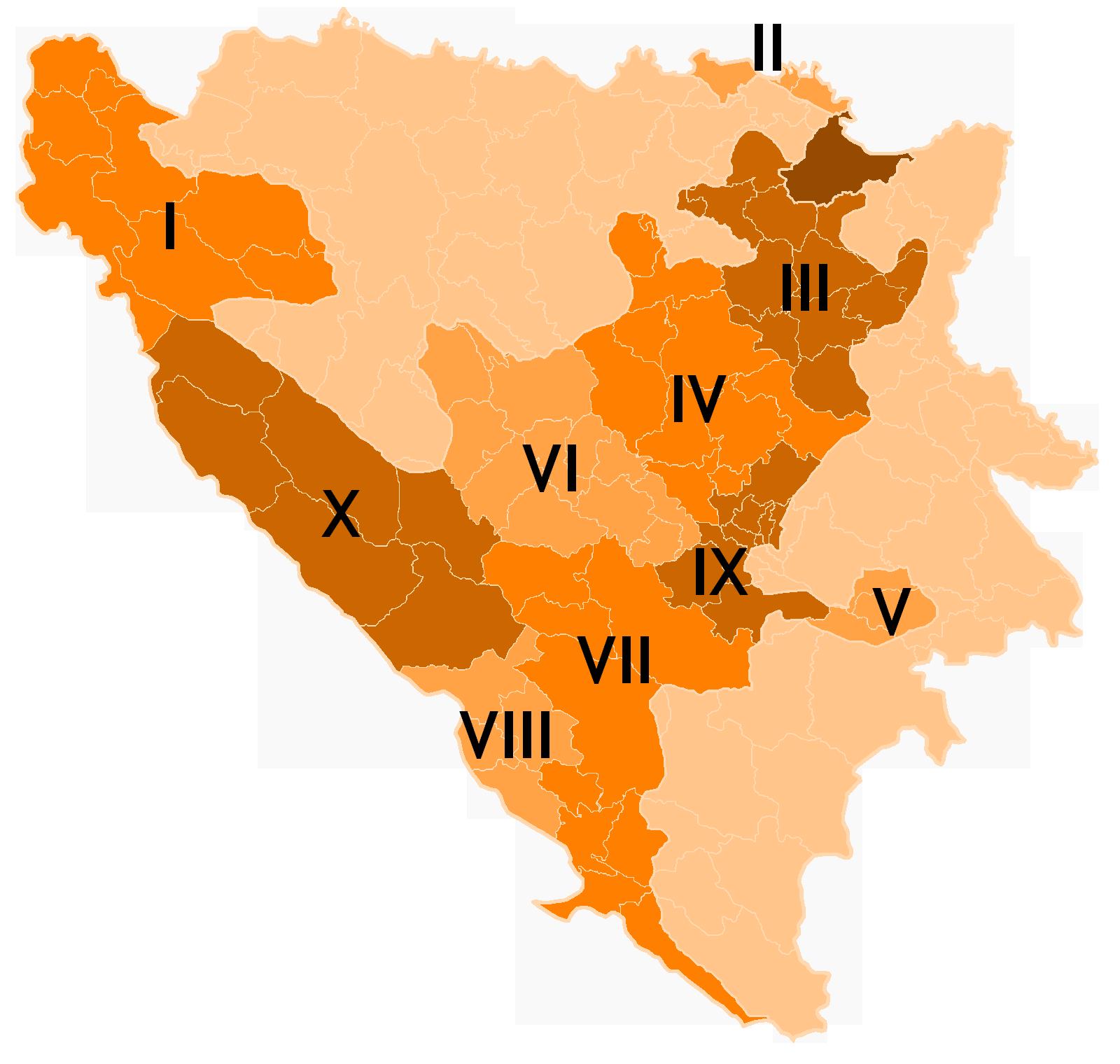 Srbi traže svoj kanton u FBiH!