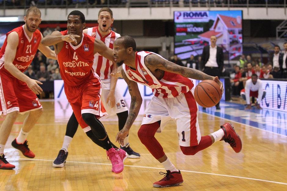 Košarkaši Zvezde poraženi od Cedevite u Pioniru