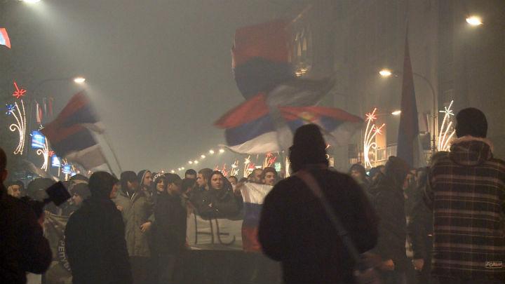 Banjalučani sinoć obilježili Dan Republike (FOTO)