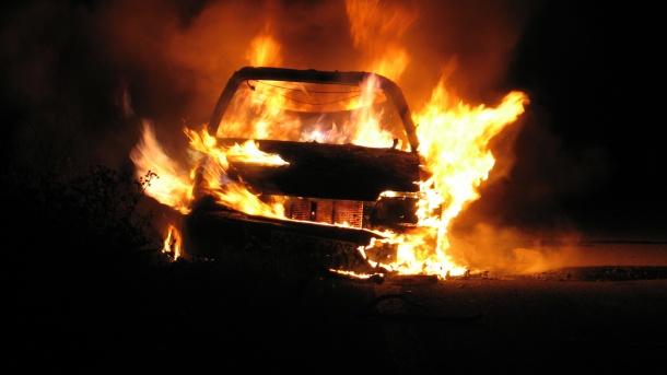 Gorio automobil u Banjaluci