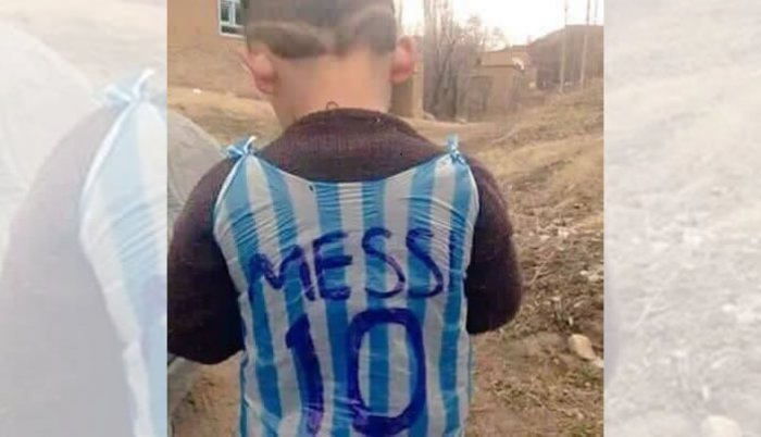 Fotografija preplavila internet: Messi traži dječaka iz Iraka da bi mu poklonio dres