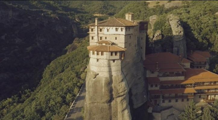 Fantastičan snimak manastira Meteori u Grčkoj