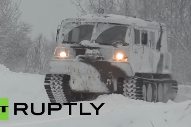 Ruska arktička zvijer: Ovo je Ruslan, Putinova uzdanica na minus 50 (VIDEO)