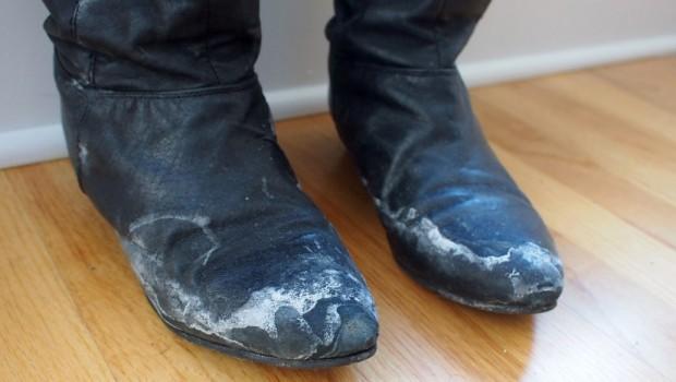 Kako da očistite so sa cipela