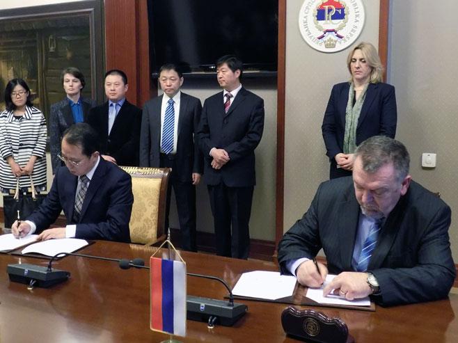 Vlada Srpske i kineska državna kompanija potpisali memorandum o saradnji u oblasti saobraćaja