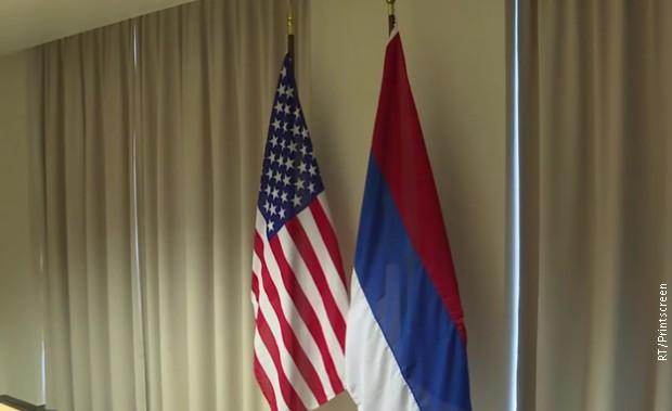 Amerikanci se malo zeznuli: Srpska zastava umjesto ruske
