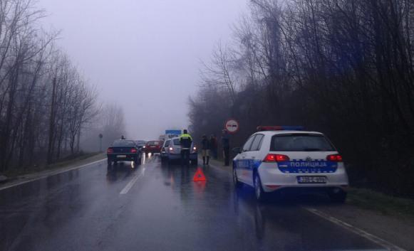 Banja Luka – Prijedor: Lančani sudar tri automobila