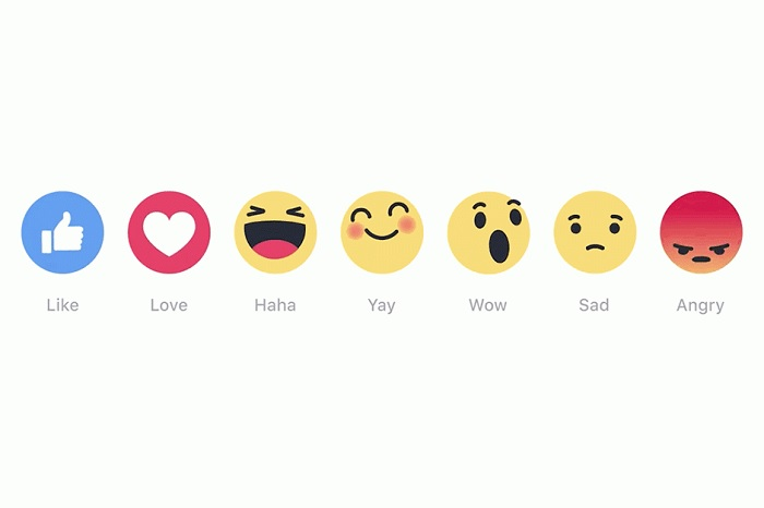 Lajk više nije sam: Fejsbuk uveo nove reakcije