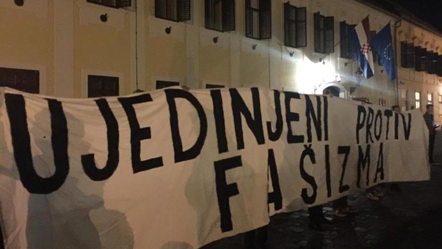 """Hiljade mladih Hrvata protestvuje protiv nacionalizma: """"Nećemo da mrzimo srbe!"""""""