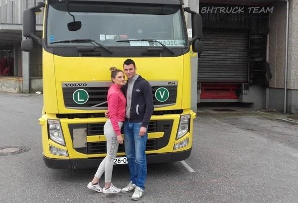 Šoferska romantika: Mostarac odveo ženu na bračno putovanje kamionom