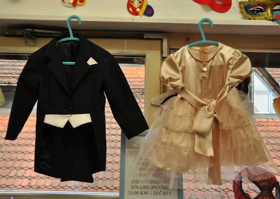 Malo carstvo dječijih kostima u Banjaluci