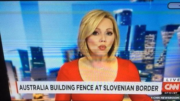 Za CNN Australija graniči sa Slovenijom