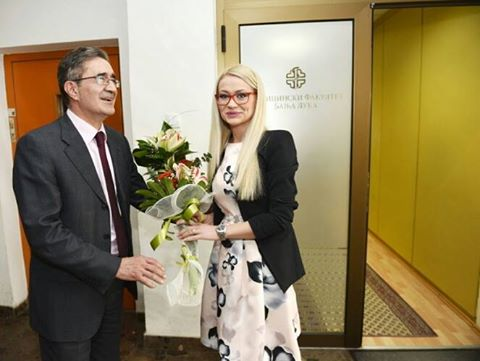 Ministar Kasipović iškolovao studentkinju
