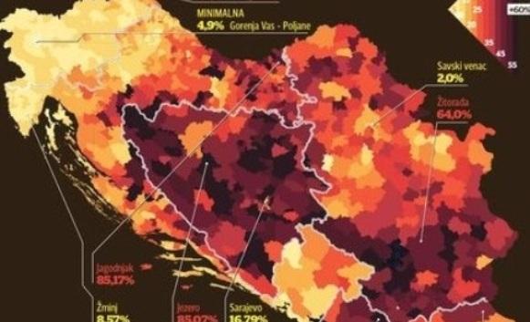 Mapa nezaposlenosti na Balkanu: Pogledajte gdje je najcrnje