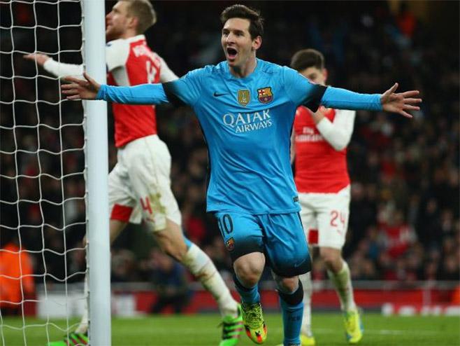 LŠ: Barselona savladala Arsenal, Јuve i Bajern remizirali