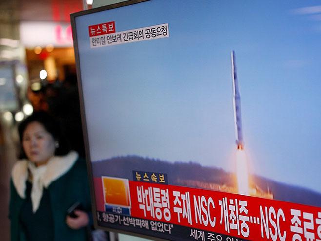 S. Koreja lansirala raketu, oštre reakcije iz svijeta (VIDEO)
