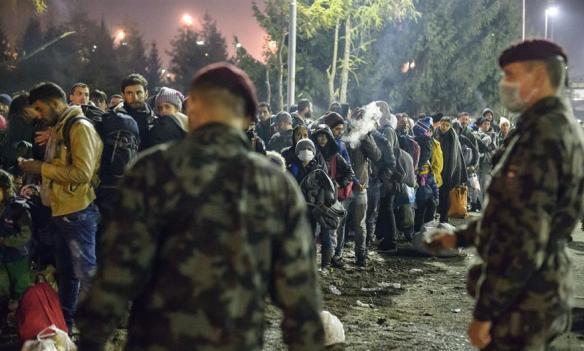 Parlament Slovenije: Policija i vojska na granici